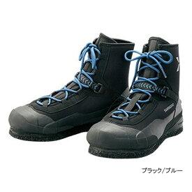 シマノ XEFO ソルトウェーディングシューズ FS-280S 25.0cm ブラック/ブルー(東日本店)