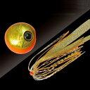 ジャッカル 鉛式ビンビン玉スライド 120g オレンジゴールド/イカナゴールド(東日本店)