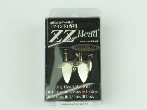 オンスタックルデザイン ジージーヘッド 1/2oz シルバ−(東日本店)