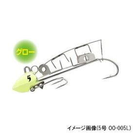 シマノ 太刀魚ゲッター ツイン噛む 4号 OO−004L 01T(グローナチュラル)(東日本店)