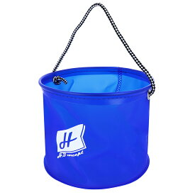 【マラソン&買いまわり10倍W開催!】H.B コンセプト EVA 水くみ丸バケツ 21cm ブルー H.B concept