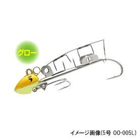 シマノ 太刀魚ゲッター ツイン噛む 5号 OO−005L 08T(グローゴールド)(東日本店)