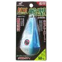 目玉集魚シンカー 舵型 P581 80号 #4(ブルーパール)(東日本店)