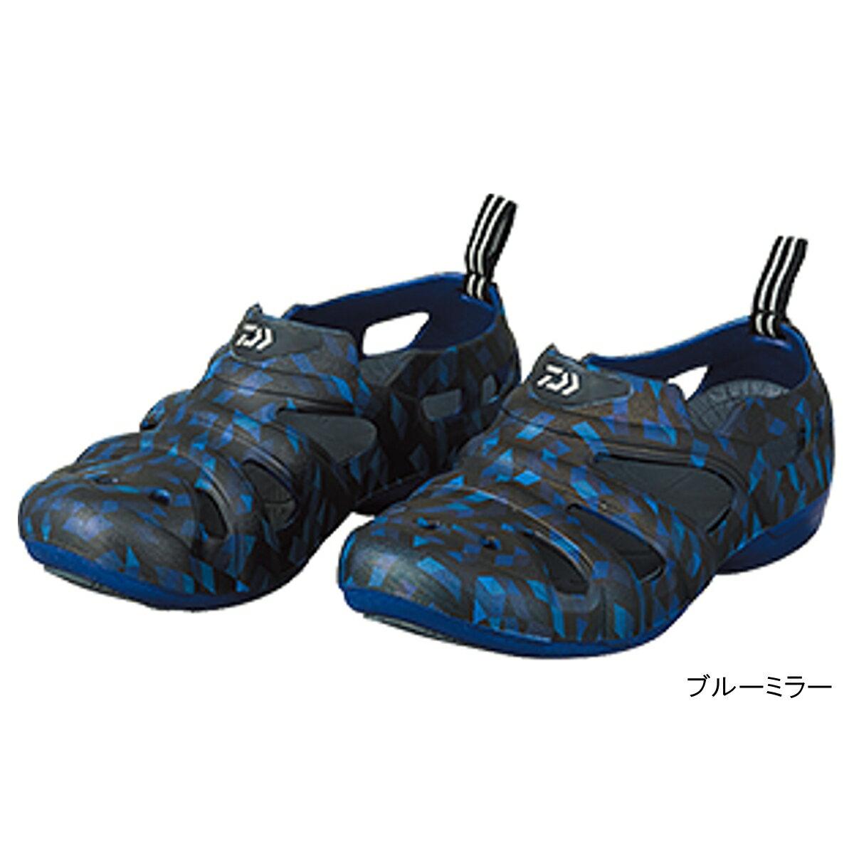 ダイワ ラジアルデッキフィットサンダル DL-1413 27.0cm ブルーミラー(東日本店)
