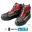 シマノ NEXUS ドライシールド・ジオロック・カットラバーピンフェルトシューズ FS-155R 25.0cm ブラック(東日本店)