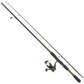 バス釣り セット 6.0フィート スピニングリール付き 釣り竿