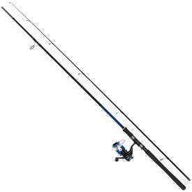 シーバス セット 9.6フィート スピニングリール付き 釣り竿【大型商品】