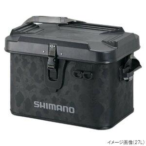 シマノ タックルボートバッグ(ハードタイプ) BK-001T 22L ブラックダックカモ(東日本店)