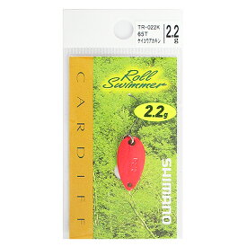 シマノ カーディフ ロールスイマー TR-022K 2.2g 65T(蛍光赤金)