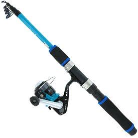 スマイルシップ 釣り竿 セット180cm ターコイズブルー サビキ釣り ちょい投げ釣り 釣り竿