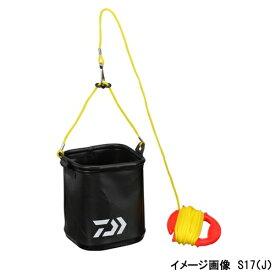 【マラソン&買いまわり10倍W開催!】ダイワ 水くみバッカン S17(J) ブラック