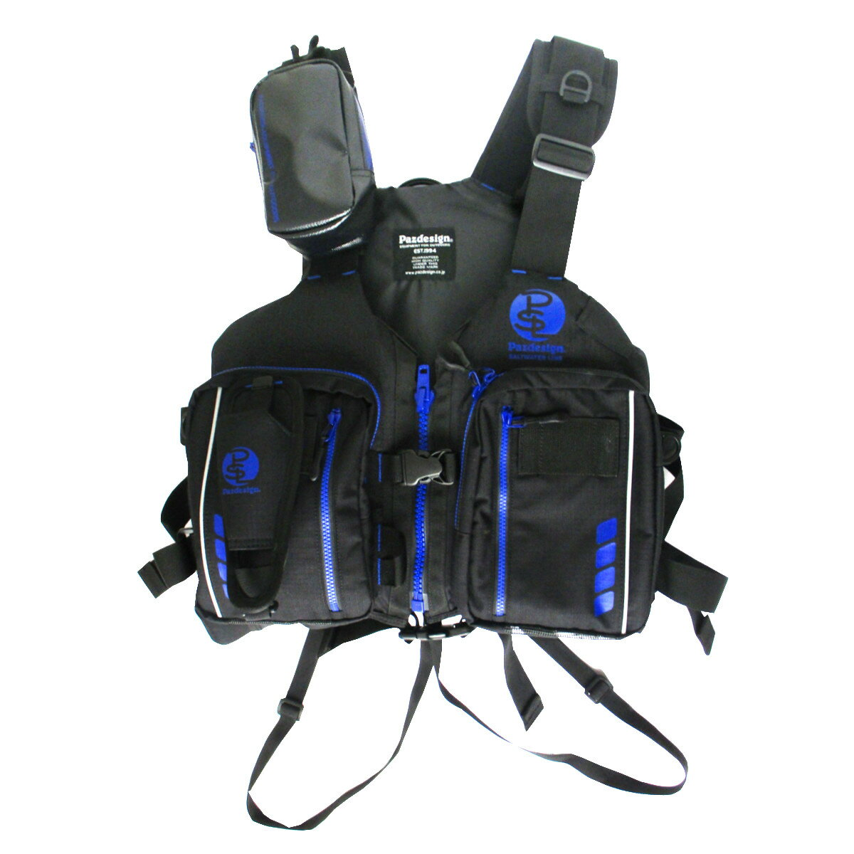 Pazdesign アルティメット V-3 SLV-025 フリー ブラック/ブルー(東日本店)