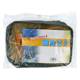 【ブラックフライデー期間中最大P32倍!】マルシン漁具(DRAGON) ドラゴン 四角ビク L 27cm(東日本店)