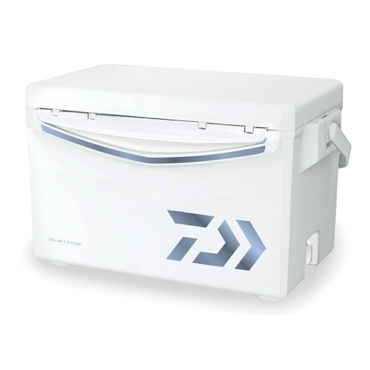 ダイワ クールラインα II SU 2500 アイスブルー クーラーボックス(東日本店)【同梱不可】