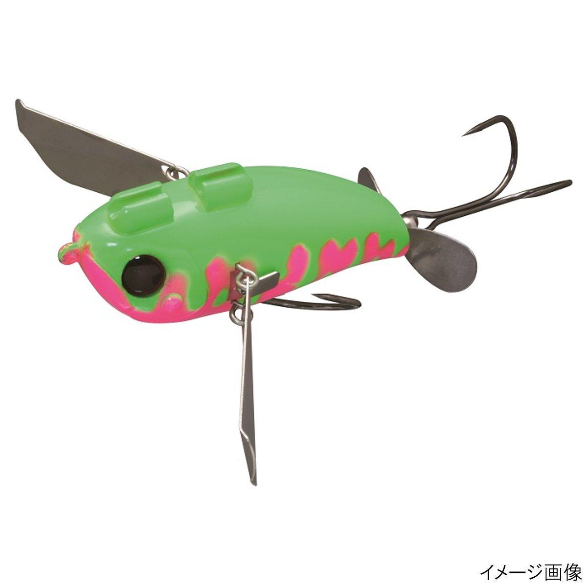 ジャッカル ポンパドールJr. 鯰カスタム ピンク/グリーンドリップ(東日本店)