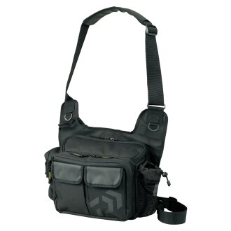 Daiwa (Daiwa) side fitting bag (C) black