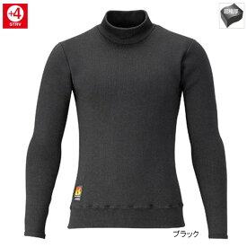 シマノ ブレスハイパー+℃ストレッチハイネックアンダーシャツ(超極厚タイプ) IN-031R L ブラック
