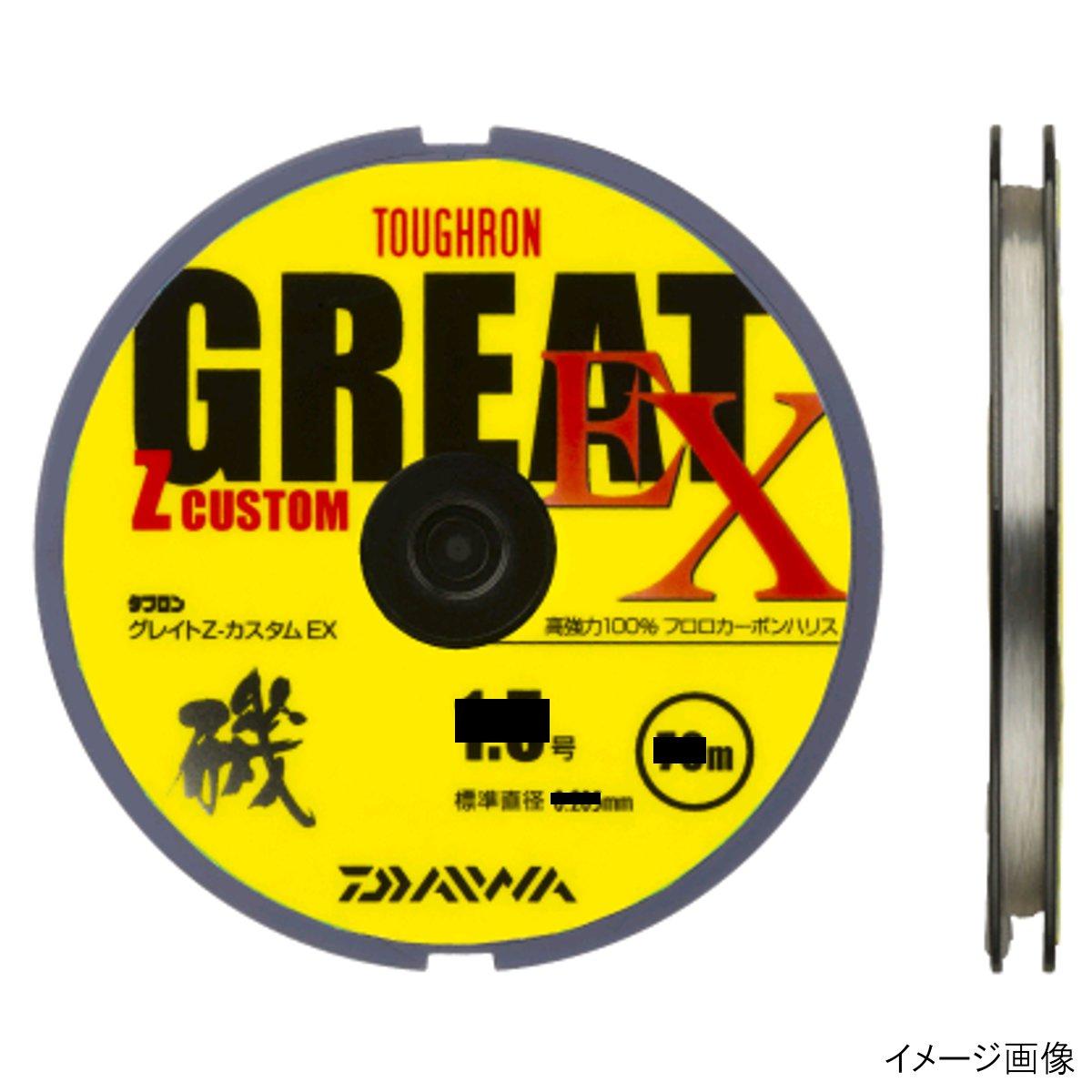 ダイワ タフロングレイトZカスタム EX 70m 1.5号 ナチュラル【ゆうパケット】