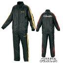 がまかつ トレーニングウォームスーツ GM−3401 LL ブラック/ゴールド