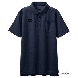 【6月25日は楽天カードがお得!エントリーで最大35倍!】ダイワ ボタンダウンポロシャツ DE-6507 M ネイビー