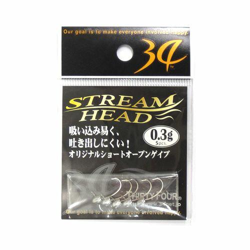 34 ストリームヘッド 0.3g