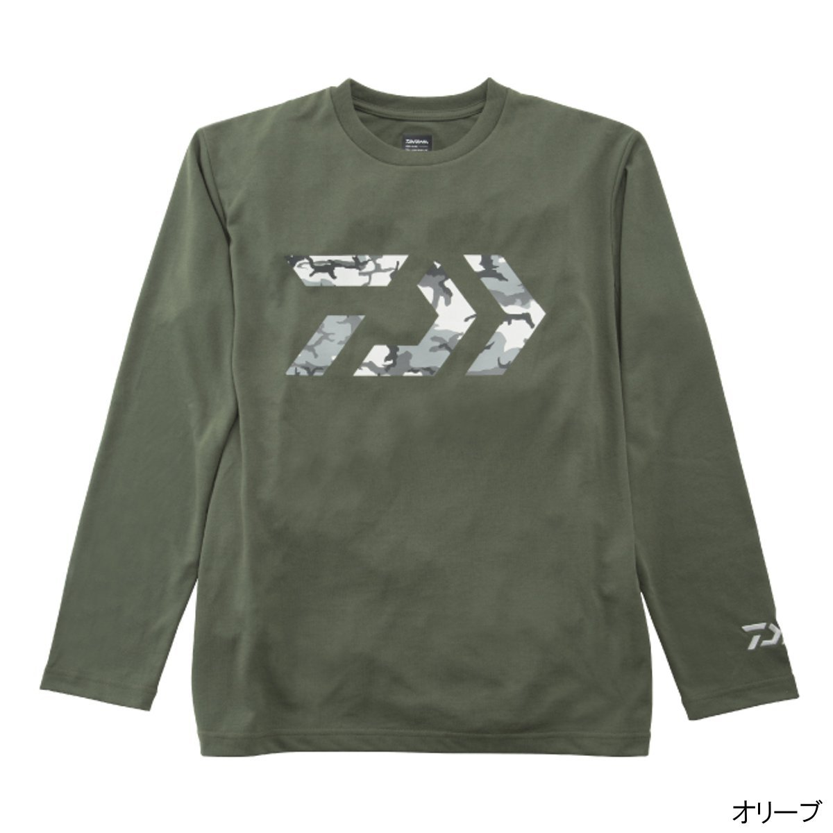 ダイワ ロングスリーブドライシャツ DE-96008 L オリーブ