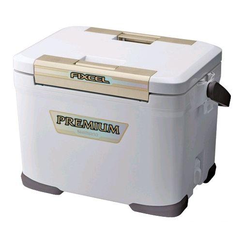 シマノ フィクセル プレミアム 170 ZF−017N アイスホワイト クーラーボックス【6co01】
