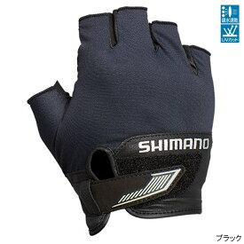 【8月25日エントリーで最大P36倍!】シマノ 3D・アドバンスグローブ5 GL-022S XL ブラック【ゆうパケット】