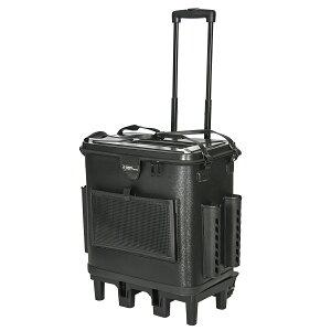 タカミヤ REAL METHOD キャリーカート付 EVAタックルバッグ 45cm ブラック