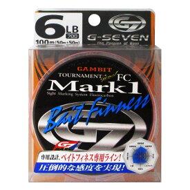 【当店対象!3店舗買い周りでP10倍!】ラインシステム G7 トーナメントジーン MARK1 ベイトフィネス G3106C 100m 6lb【ゆうパケット】