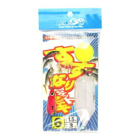 【3店舗で買いまわりをしてP10倍!】マルシン漁具(DRAGON) すずなりロケットサビキ 針6号−ハリス1.5号【ゆうパケット】
