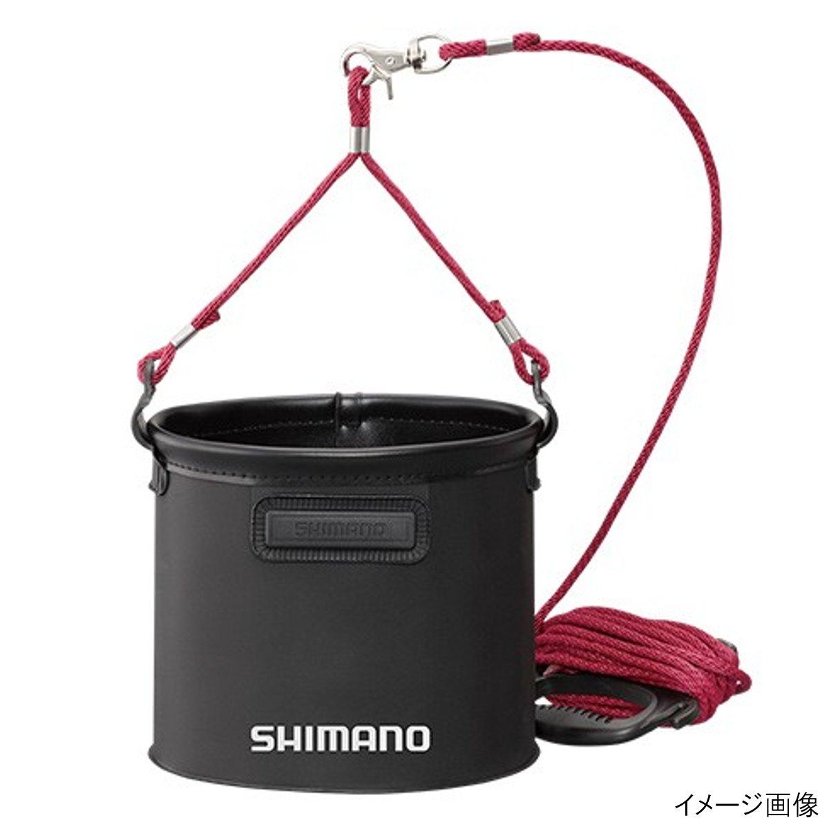 シマノ 水汲みバッカン BK-053Q 21cm ブラック