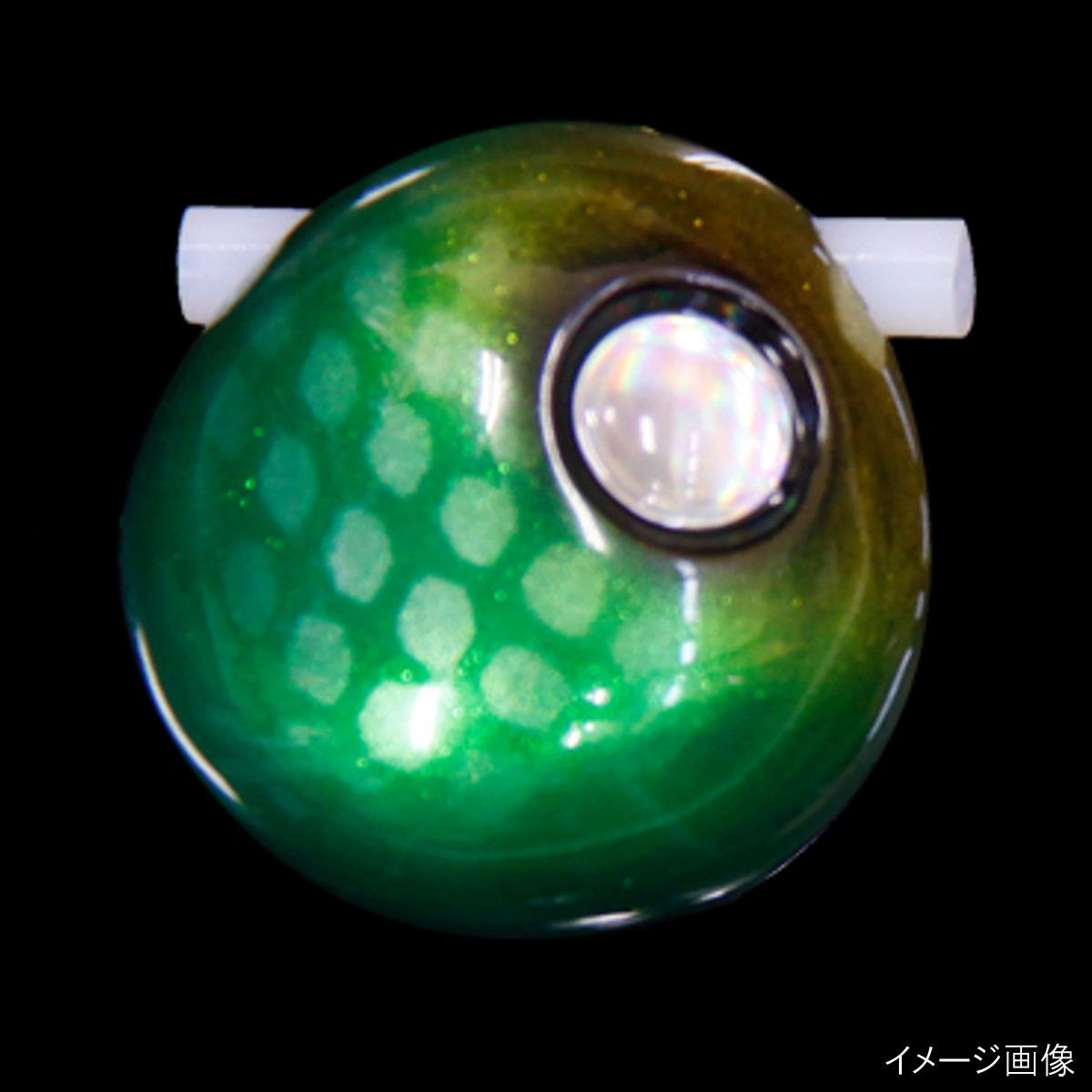 ジャッカル ビンビン玉スライド156g(TGヘッド) メタルグリーン