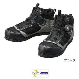 シマノ カットラバーピンフェルトフィットシューズ LT FS-041Q 28cm ブラック