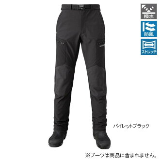 SHIMANO storm stretch pants PA-045Q L pie let black