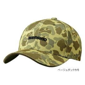 シマノ プリントキャップ CA-071S フリー ベージュダックカモ