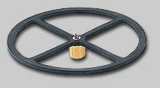 第一精工 円盤タナトリゴム 直径10cm オモリ約6号