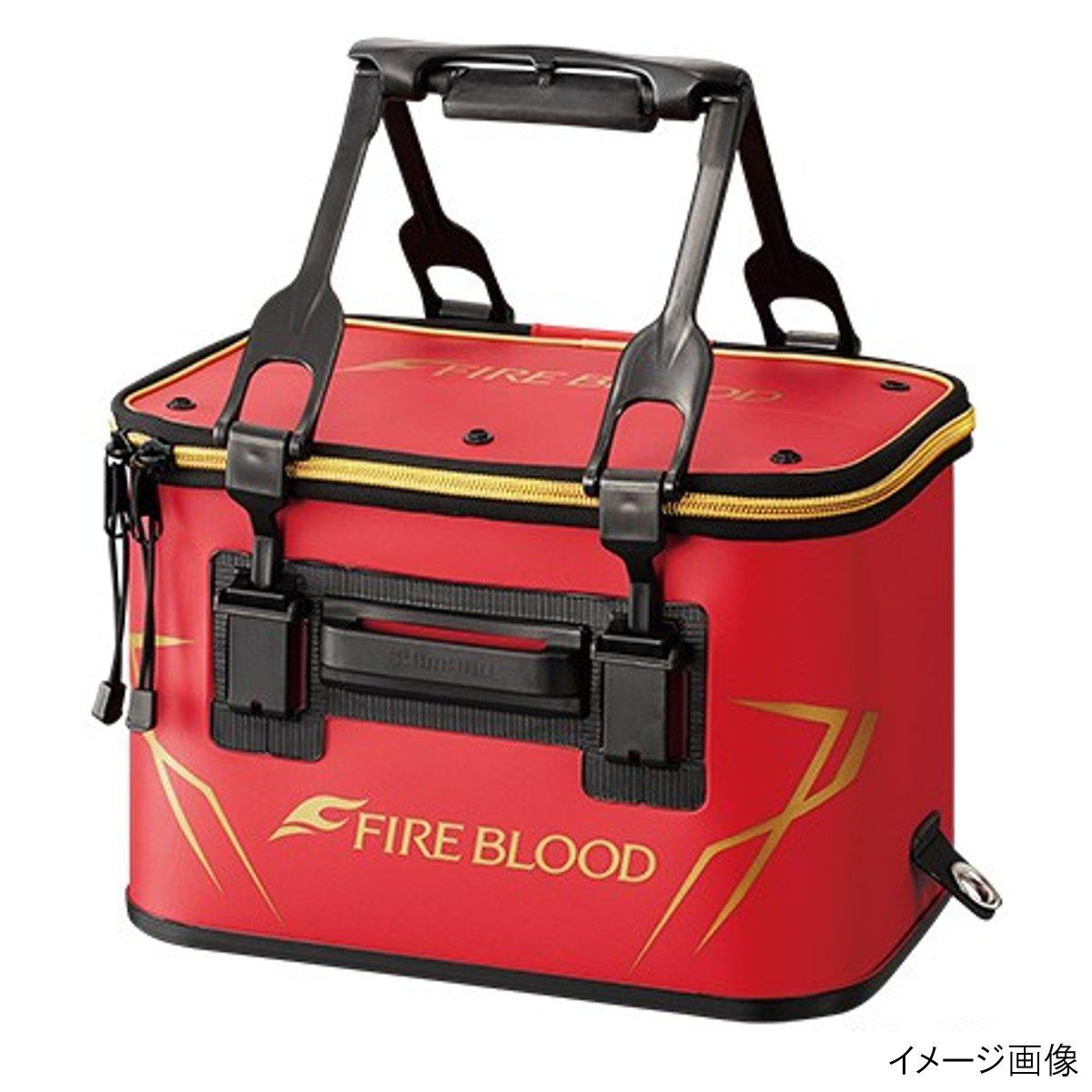 シマノ バッカン FIREBLOOD (ハードタイプ) BK-112Q 40cm ブラッドレッド