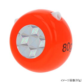タカミヤ H.B concept ライトステップ タイラバヘッド 60g オレンジ【ゆうパケット】
