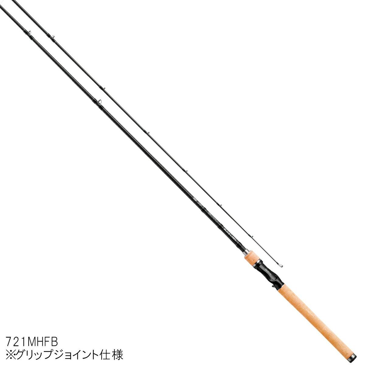 ダイワ ブラックレーベル+ ベイトキャスティングモデル 721MHFB【大型商品】