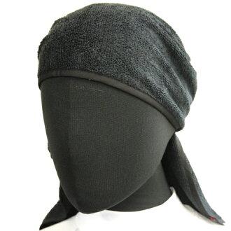 Ltd. (TAKAMIYA) REALMETHOD pirates towel bandana TG-8556-free black