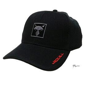 ジャッカル SQUARE LOGO CAP フリー グレー