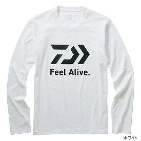 【8月25日エントリーで最大P36倍!】ダイワ ロングスリーブFEEL Alive. Tシャツ DE-82009 XL ホワイト