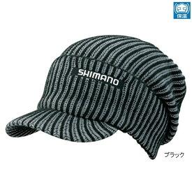 シマノ リブニットワッチ(つば付) CA-085S フリー ブラック