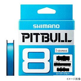 シマノ ピットブル8 PLM68R 200m 1.5号 スーパーブルー【ゆうパケット】