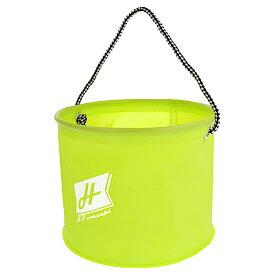 【マラソン&買いまわり10倍W開催!】H.B コンセプト EVA 水くみ丸バケツ 21cm グリーン H.B concept