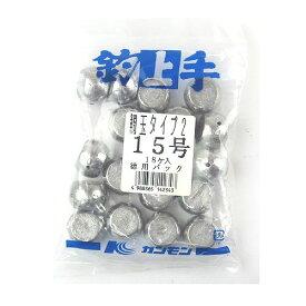 関門工業 鯛玉オモリ タイプ2 15号 徳用パック