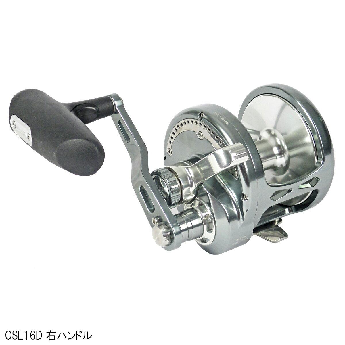 シーライオンPG OSL16D Gunsmoke/Silver 右ハンドル
