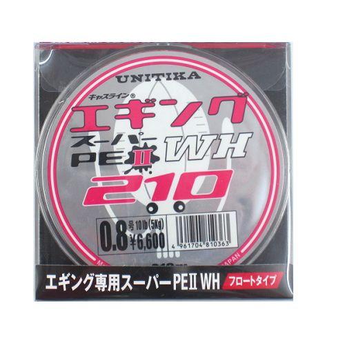 ユニチカ(UNITIKA) エギングスーパーPE2 WH210m 0.8号
