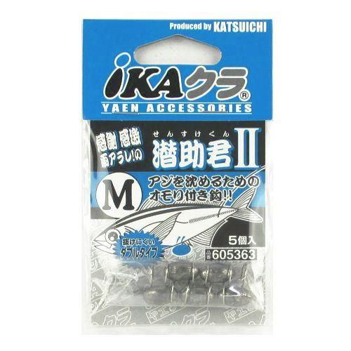 カツイチ iKAクラ 潜助君II IP−3 M シルバー【ゆうパケット】
